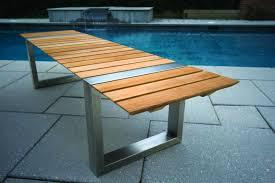 modern outdoor bench  bench decoration