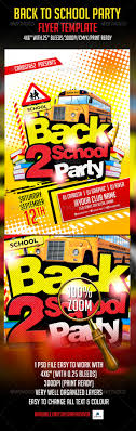 back to school party flyer template back to fonts and flyer back to school party flyer template graphicriver back to school party flyer template is a