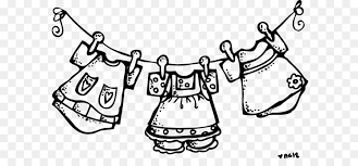 hanging laundry clipart black and white. Beautiful Hanging Laundry Clothes Line Dryer Clothing Clip Art  Clothesline Cliparts And Hanging Clipart Black White E