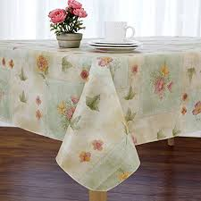 boxed fern flannel backed vinyl tablecloth indoor outdoor 60 inch round taupe kitchen dining lk16gztpk