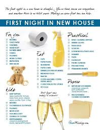 Image Kitchen Familys First Night In New Home Checklist This List Will Give You An Idea Of The First Things To Do When Moving Into New House Pinterest First Things To Do When Moving Into New Home Checklist New