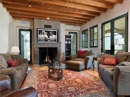 tuscan villa living room