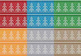Christmas Pattern Sweater Simple Inspiration Design