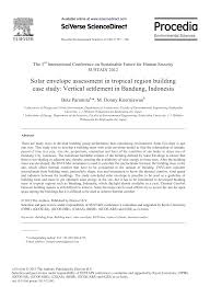 Manual Of Tropical Housing And Building Climatic Design Solar Envelope Assessment In Tropical Region Building Case