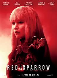 Red Sparrow | Red sparrow movie, Full movies online free, Film red