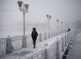 Freezing Temperature Oymyakon The Coldest Village On Earth Temperatures Drop To 71 2c