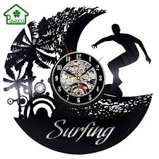 antique vinyl record design wall clock creative hanging clock living room art watch home decoration gift 5 style 30 30 1cm