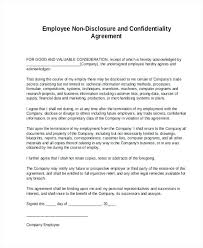 Confidentiality Agreement Template Doc Sample Non Disclosure Form 8 ...