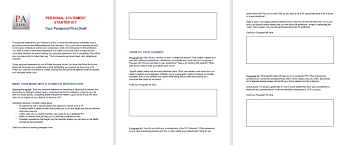 Personal Statement Outline The 1 Mistake Pre Pas Make On Their Personal Statement The
