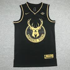 Nwt Men S Golden Edition Milwaukee Bucks Antetokounmpo 34 Fully Stitched Nba Jersey