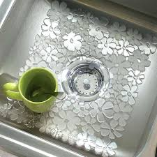 kitchen sink mat 3 pack fl anti slip sink mat kitchen sink materials pros and cons