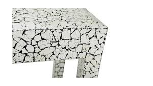 MILAN CONSOLE TABLE IN <b>CRACKED EGGSHELL</b> - Simon Orrell ...