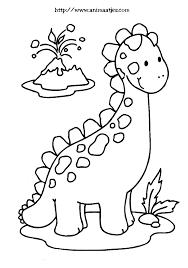 Kleurplaat Dino Thema Dinosaurussen Dinosaurios Para Pintar