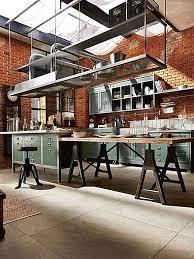 How To Design An Industrial Style Kitchen Kitchen Magazine Round