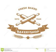 Vector Logo Design Of Bakery Bread Shop Pastry Stock Illustration