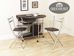foldable dining chairs uk. folding dining set drop leaf table and chairs butterfly with four black finish: amazon.co.uk: kitchen \u0026 home foldable uk