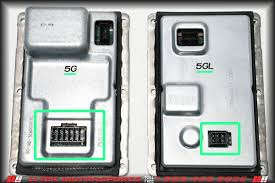 ballast identification for audi a b e sedan cars  short description of image