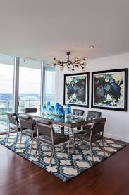 art for traditional dining room. blue contemporary dining room by abbe fenimore art for traditional