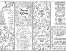 — as pdf and eps. Coloring Mothers Day Etsy