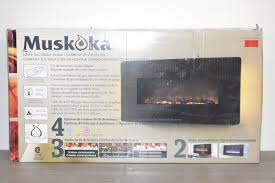 muskoka 35 curved wall mount electric fireplace reviews best