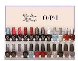 Opi Gel Color Chart 2016 Opi Breakfast At Tiffanys Holiday 2016 Collection Beauty