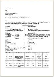 Bangla Cv Template For Govt Job Freelance Front End Developer