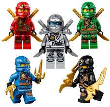 LEGO® Ninjago™ 5 Zukin Ninjas - Lloyd Zane Jay Cole Kai - The Brick People