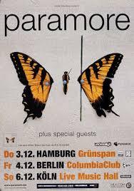 <b>Paramore</b> - <b>Brand New</b> Eyes, Tour 2009 - Konzertplakat, 22,90 €