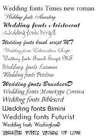 Wedding Invitation Fonts For Microsoft Word Wedding Invitations