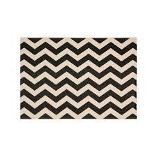 black and white zigzag rug lovely safavieh courtyard foxtrot chevron indoor outdoor rug black