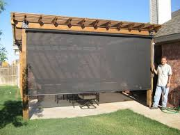 privacy and sun screens patio shade