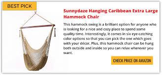 best hammock chair reviews