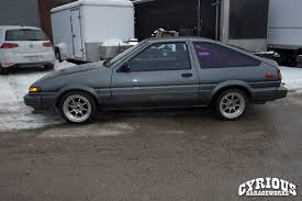 PROJECT D: 1987 Toyota Corolla Initial D Replica – Cyrious Garageworks