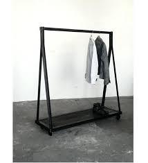 luxury free standing clothes rack 13 for wardrobe racks marvellous garment wooden prepare ikea germany