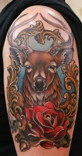 Jelen Tetování Hodnota Obrázku