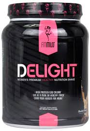 fitmiss delight women s premium healthy nutrition shake chocolate delight 1 2 lbs