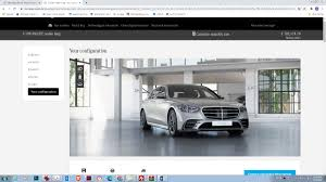 Everything we could dream up. Mercedes S Class Configurator Options Increase The Price By Another 50