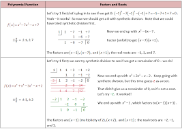 finding roots of polynomials