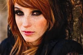 Tapety Tvář ženy Ryšavý Model Portrét Dlouhé Vlasy červené