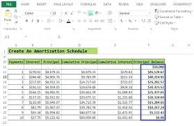 create a schedule in excel amortization excel formula prepaid amortization schedule excel