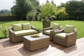 maze rattan milan rattan garden rounded 2 seater sofa set