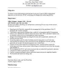 Career Objectives For Resume Examples Examples Of Career Objectives For Resumes 58