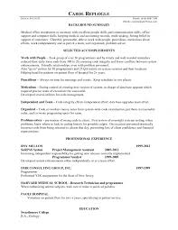 Sample Resume For Medical Receptionist With No Experience Sample Resume For Secretary With No Experience Danayaus 10