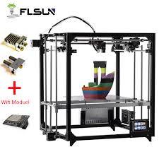 2019 Upgraded 3D Printer Flsun Dual Extruder Large <b>Printing</b> Size ...