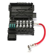 online get cheap battery fuse box aliexpress com alibaba group 99 Vw Beetle Fuse Diagram fuse box battery terminal insurance tablets for vw jetta golf mk4 1999 2004 1j0937550a( 1999 vw beetle fuse diagram