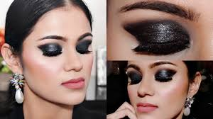 easy 3 step black smokey eye makeup for beginners tutorial in hindi with tips beauty beauty