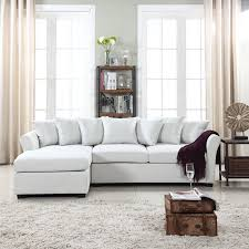 linen sectional sofa. Beautiful Sofa Modern Large Linen Sectional Sofa With Extra Wide Chaise Lounge On