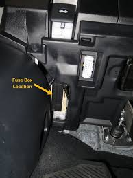 2017 rx interior fuse box location? clublexus lexus forum discussion fuse box location 2005 f150 here's where it's located you have to get a bit lower to the floor and look towards the back to see it i hope this helps