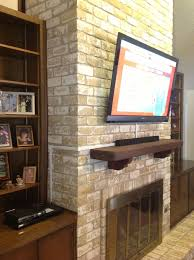 fireplace pictures tv wall mount