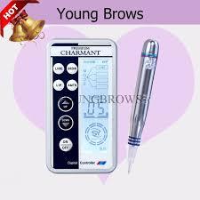 korea charmant permanent makeup micro pigmentation premium machine with electric demographer for tattoo